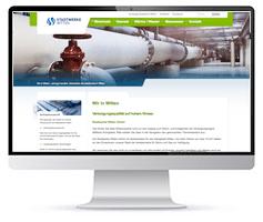 Screenshot der Stadtwerke Witten Netze Webseite