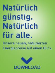 Energiekosten garantiert niedrig bis 2018 - Hier klicken und aktuelle Preisinformation laden!