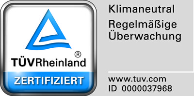 TÜV-Rheinland-Zertifikat