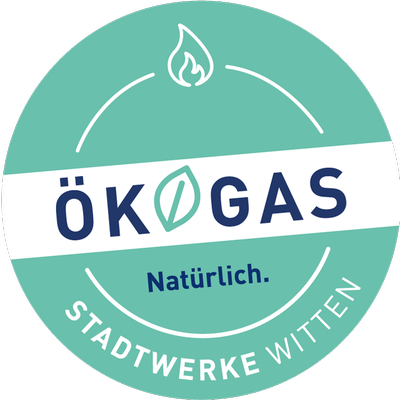 Stadtwerke Witten Ökogas-Siegel
