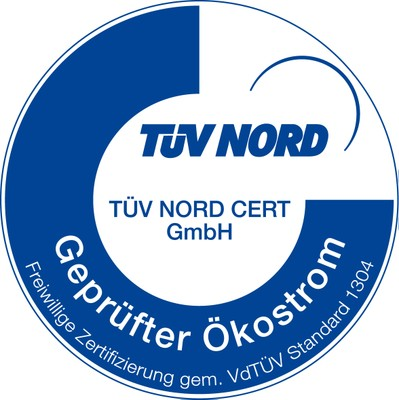 TÜV Nord Logo Ökostrom