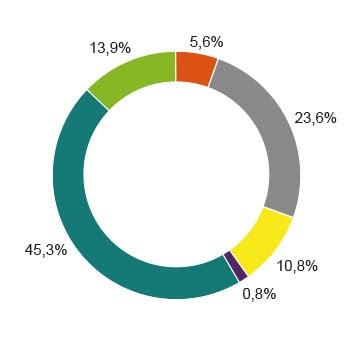 Strommix verbleibender Energieträger Zusammensetzung Diagramm
