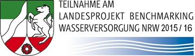 Bild Teilnahme am Landesprojekt Benchmarking Wasserversorgung NRW 2015/2016