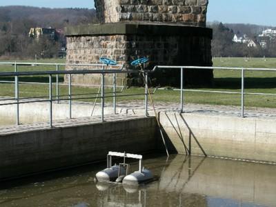 Bild Wasserwerk Filtratabsetzbecken