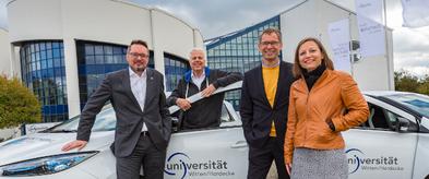 eCarSharing in Witten: Zwei neue Fahrzeuge an der Universität erweitern das Angebot